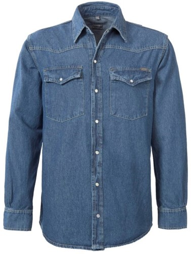 Brams Paris Brad 2.353/A54 Shirt - Blauw